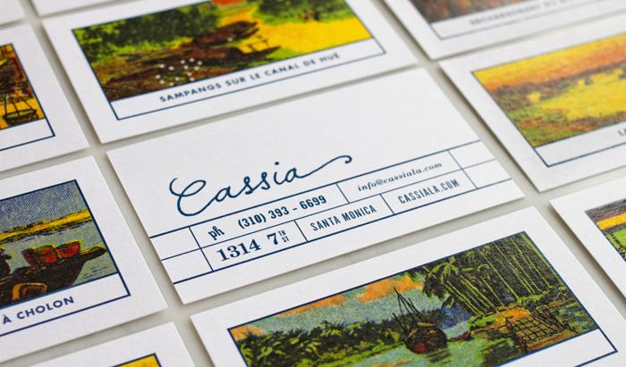Cassia Menu by Strohl, Inc.