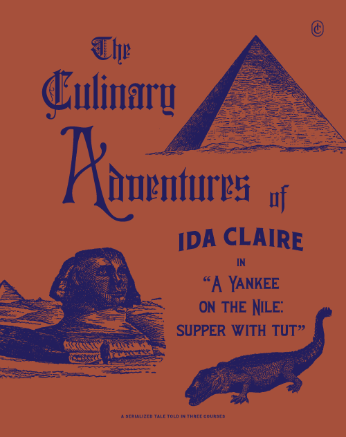 Ida Claire Menu by Tractorbeam