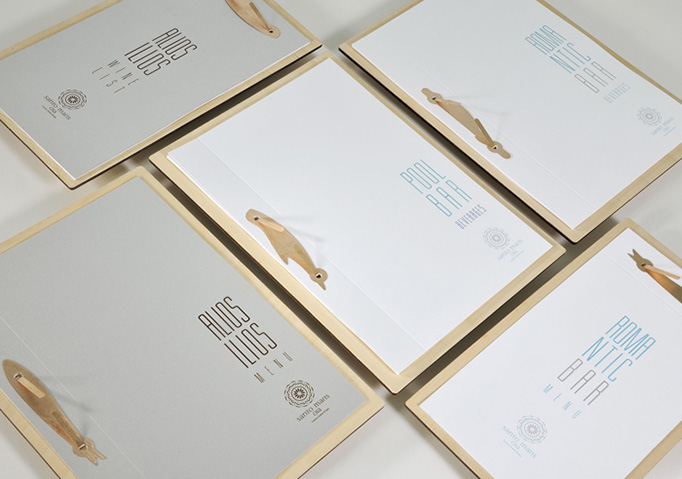 Alios Ilios Menu by Brand New