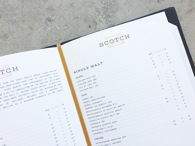 Whiskey Kitchen Menu by Paul Tuorto