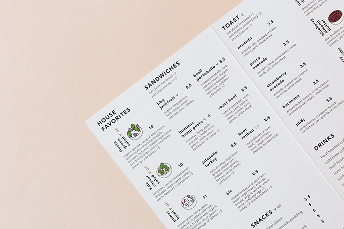 Alchemy Menu by A & R Creative Group