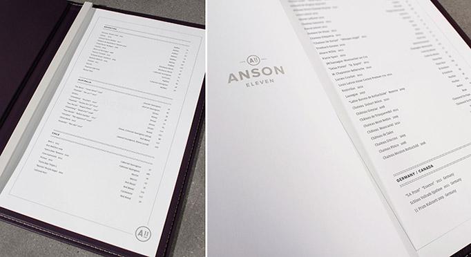Anson Eleven