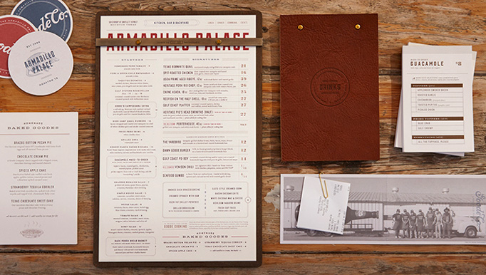 Armadillo Palace Menu by Principle