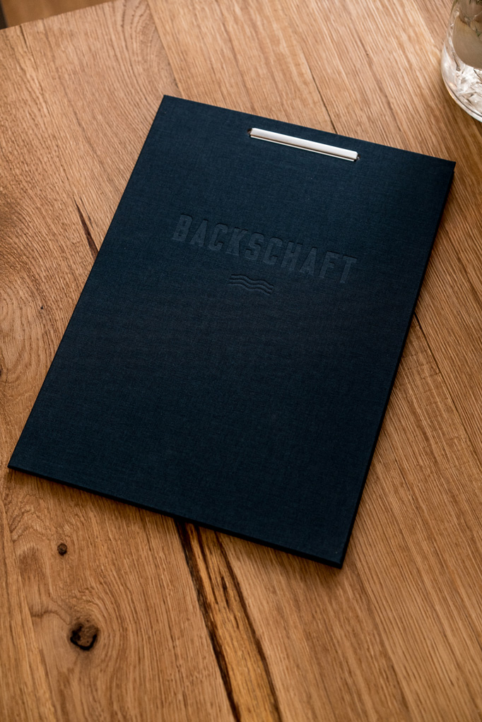 Backschaft Menu by Marco Soenke