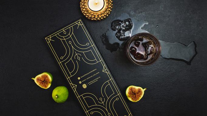 Bazaar Menu by Braind Branding Studio