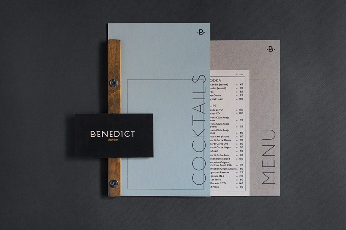 Benedict Daily Bar Menu by The Goort