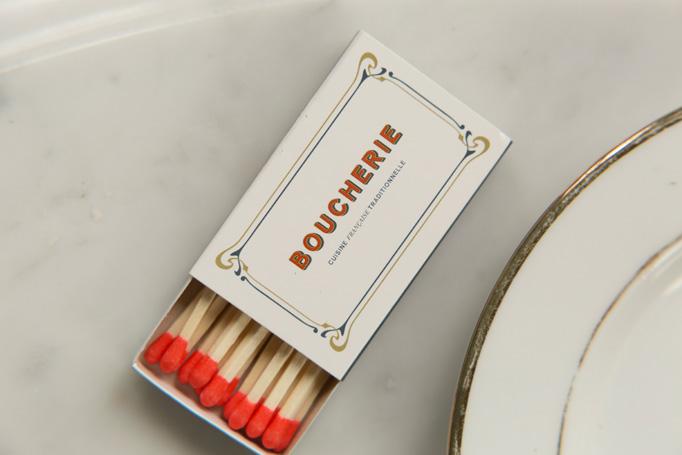 Boucherie Menu by SAVVY Studio