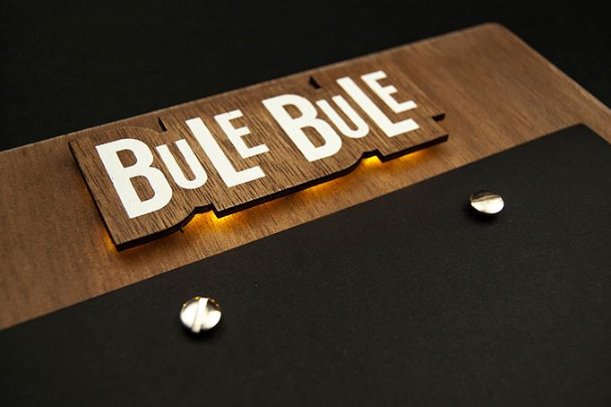 Bule Bule Menu by El Calotipo
