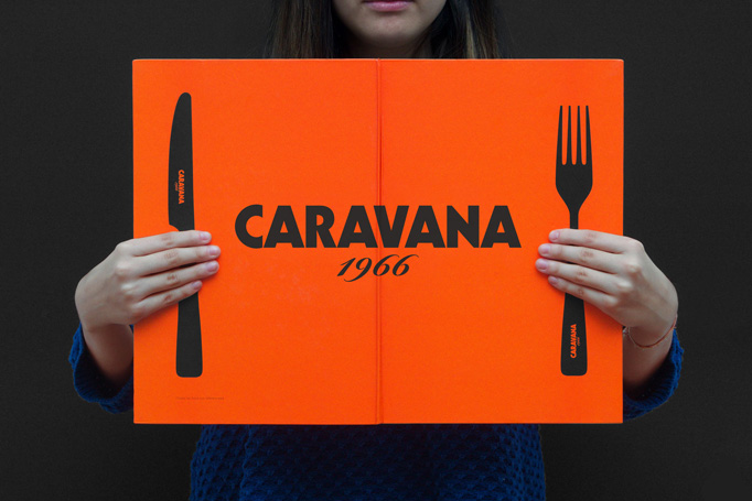 Caravana Menu by IS Creative Studio