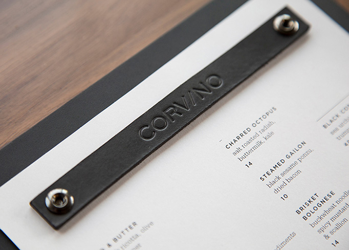 Corvino Menu by Design Ranch