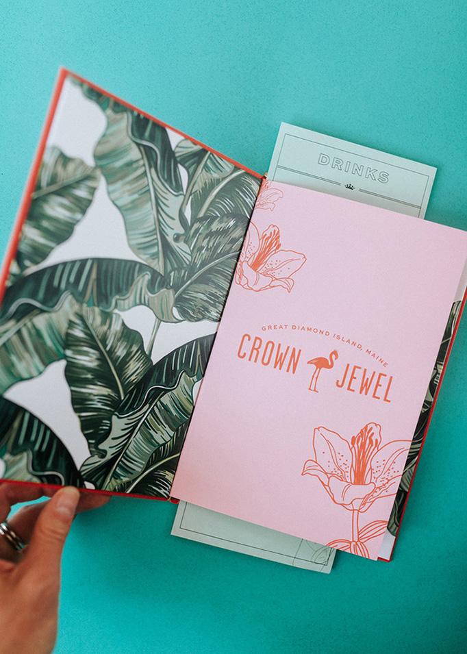 Crown Jewel Menu by Might & Main