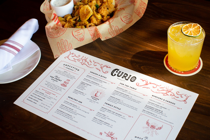 Curio Menu by Bootjack Creative