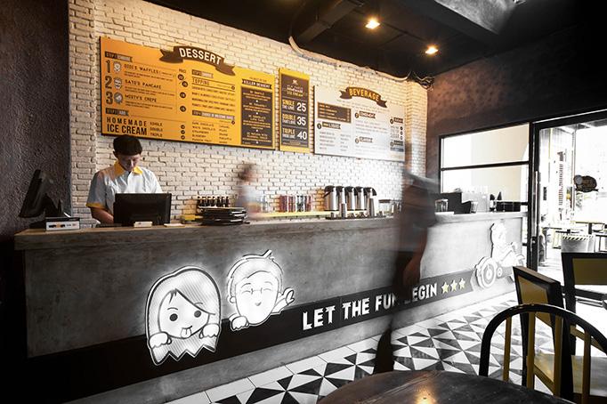 Art of the menu dessert company