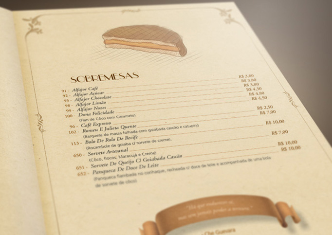 Card�pio DiParma Restaurante