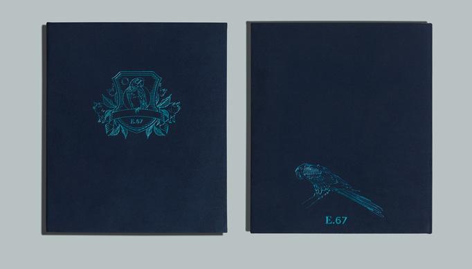 Earls.67 Menu by Glasfurd & Walker