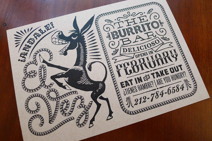 El Vez Burrito Bar by de Vicq Design
