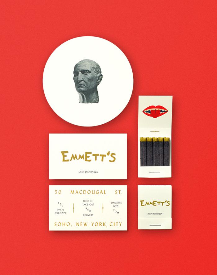 Emmett's Menu by Chandelier Creative