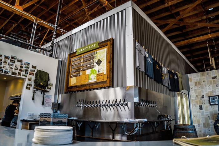 Fieldwork Brewing Co. Menu by Gamut