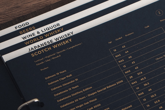Ginger Menu by Power-nap Over
