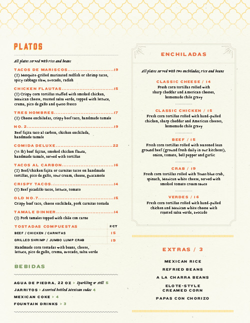 Goode Co. Kitchen & Cantina Menu by Principle