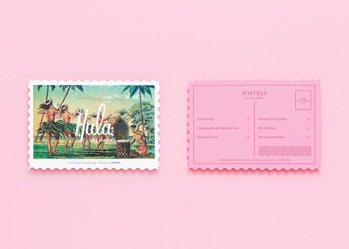 Hula del Hawaii Menu by Parámetro Studio