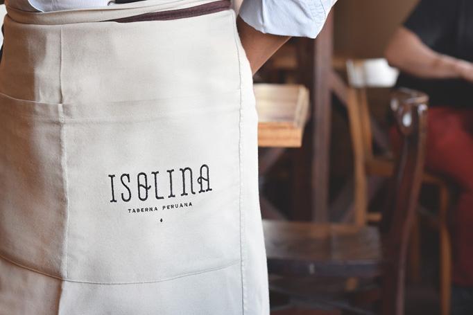 Isolina Menu by Paloma Nieri
