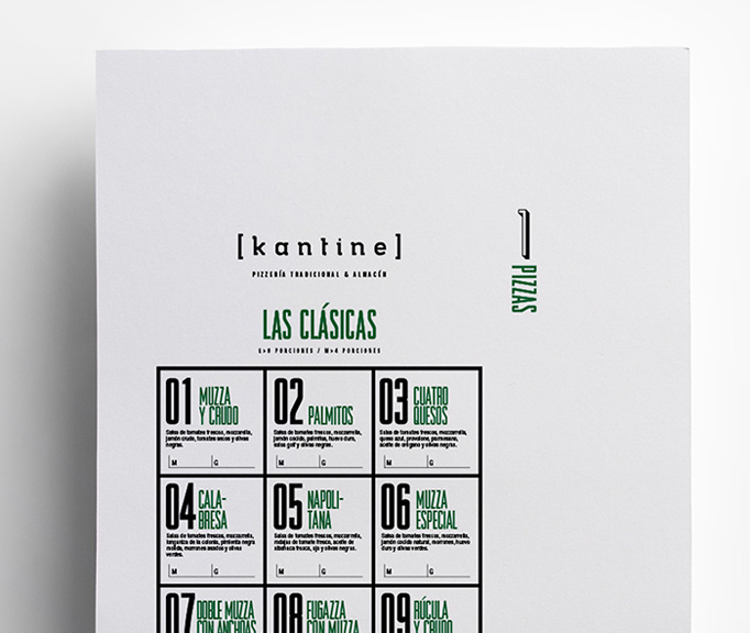 Kantine Menu by Clara Quinteros