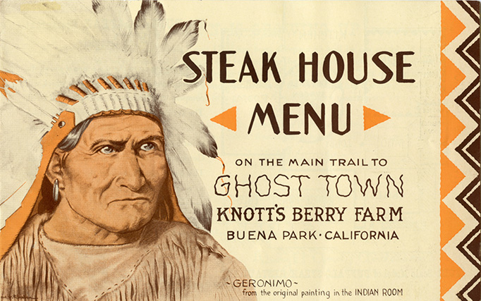 Knott's Berry Farm Ghost Town Grill