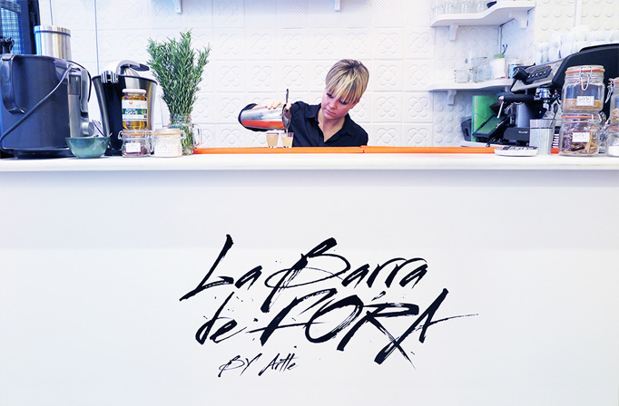 La Barra de Fora Menu by Gerard Marin