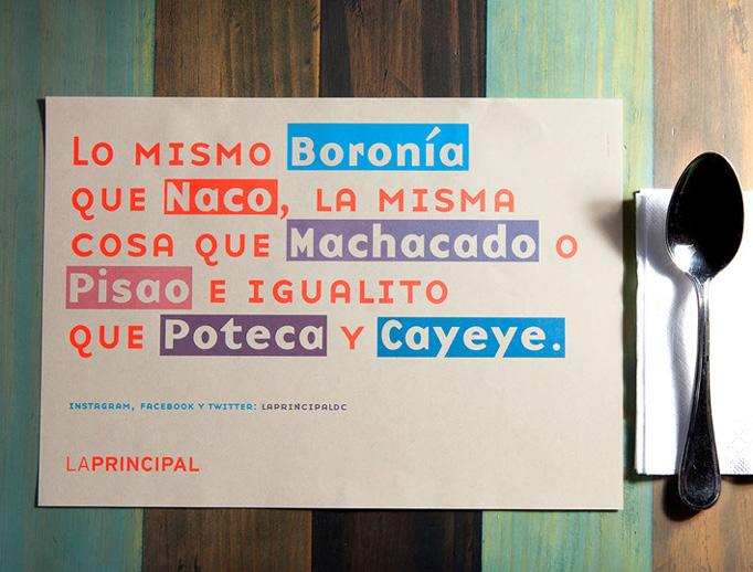 La Principal Menu by Arutza Rico Onzaga