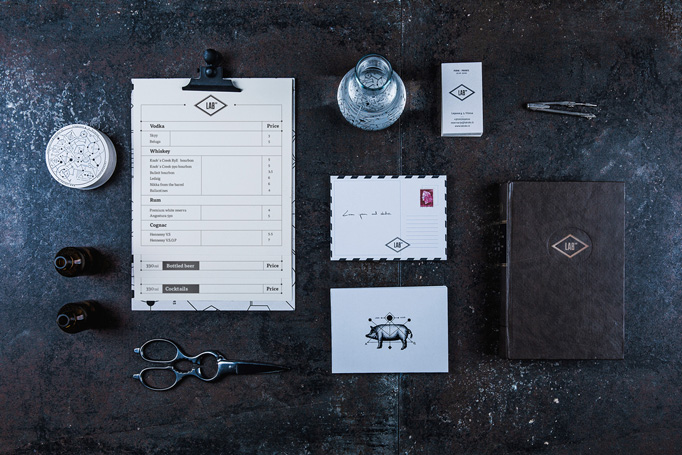 Lab 180 Menu by Andstudio