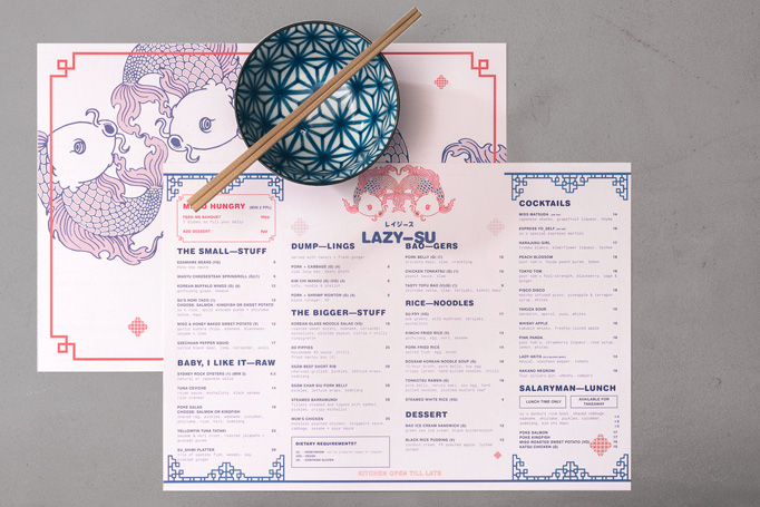 Lazy-Su Menu by Br&works