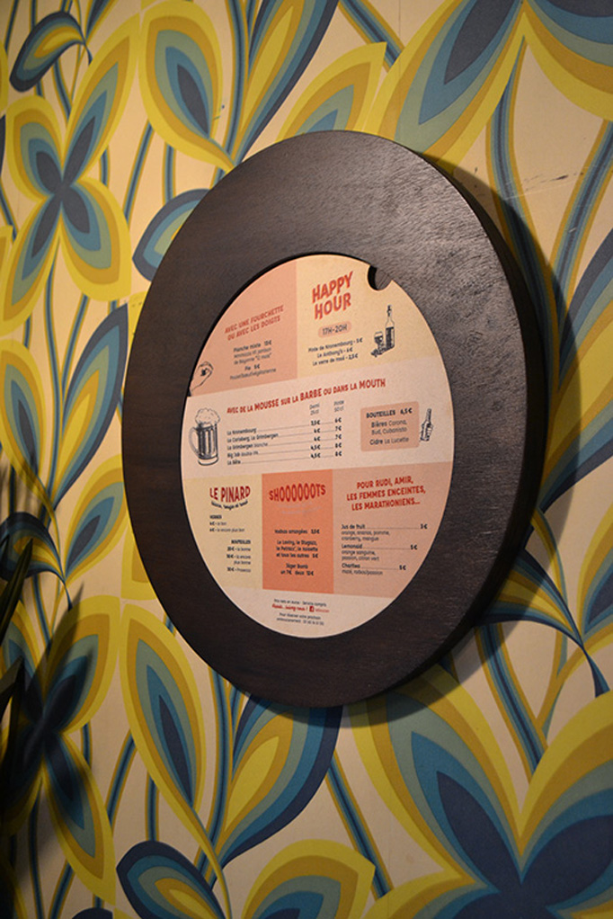 Le Boucan Menu by Festin studio and Madamebois