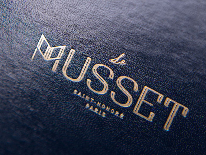 Le Musset Menu by Anna Kouchniroff