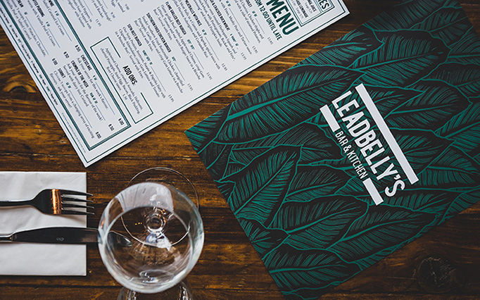Leadbelly's Menu by betwixt