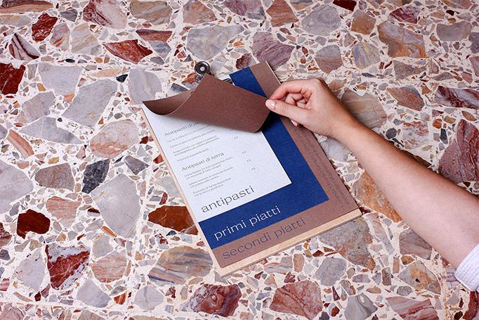 Locanda Vittoria Menu by Mezzopieno Studio