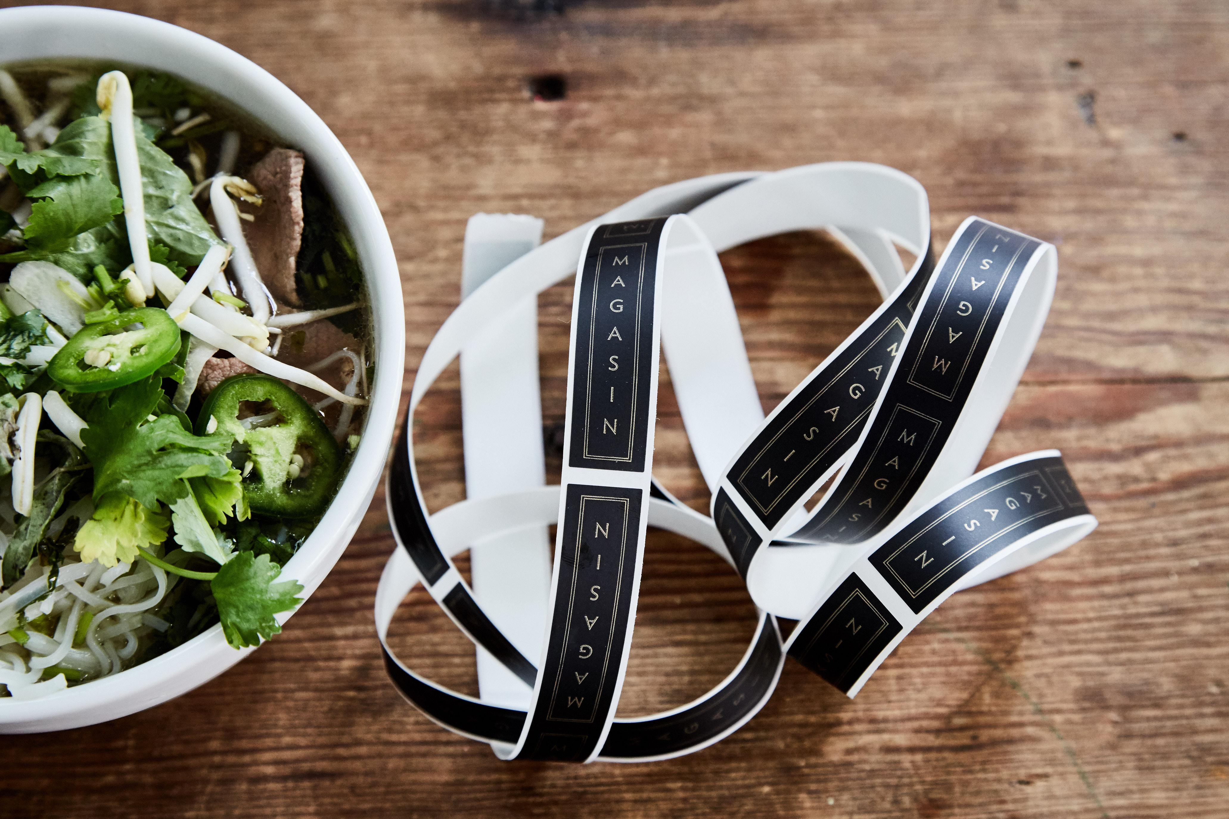 Magasin Vietnamese Kitchen Menu by Stitch Design Co.