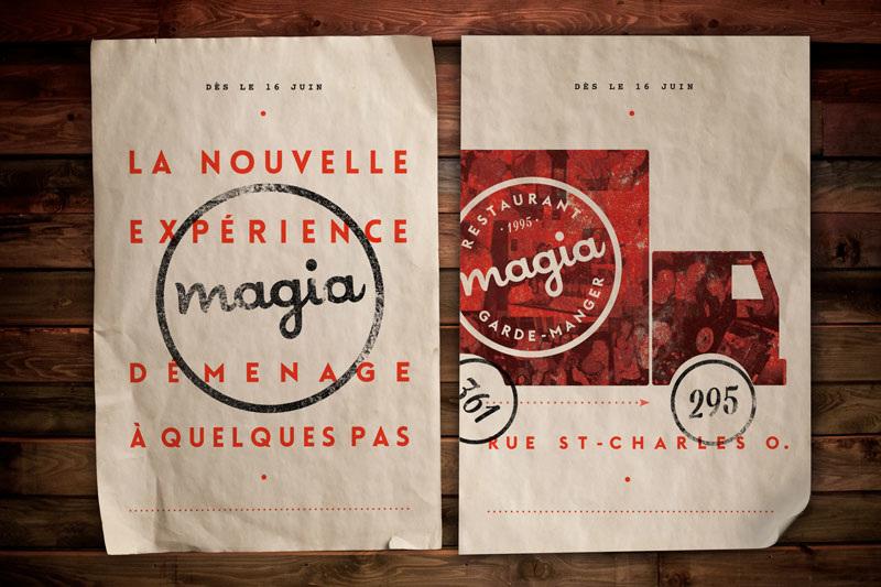 Magia Menu by Antoine Fortin