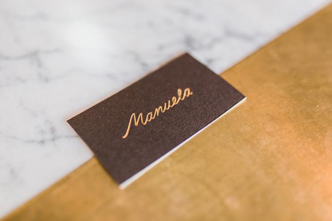 Manuela Menu by Radical Co-operative
