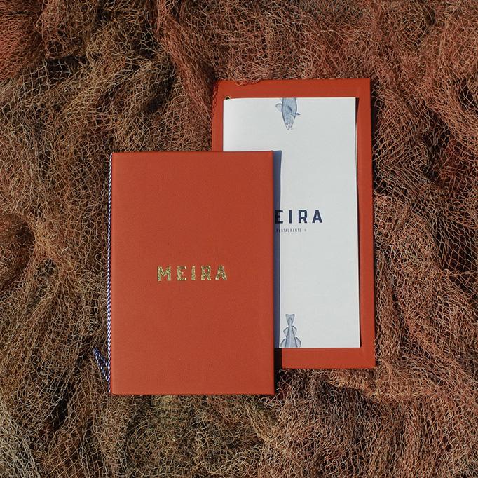 Meira Menu by 327 Creative Studio