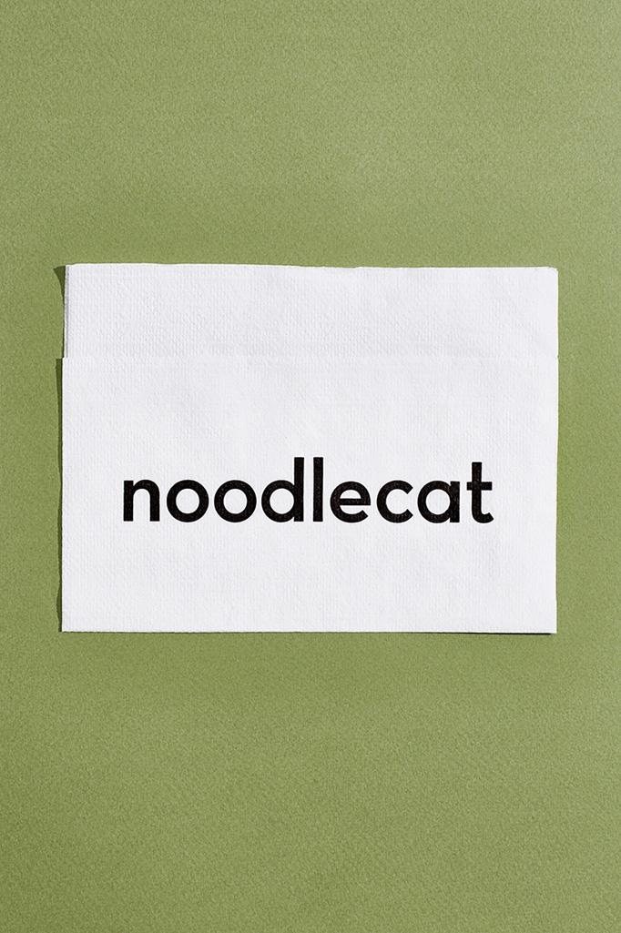 Noodlecat Menu by Studio of Christine Wisnieski