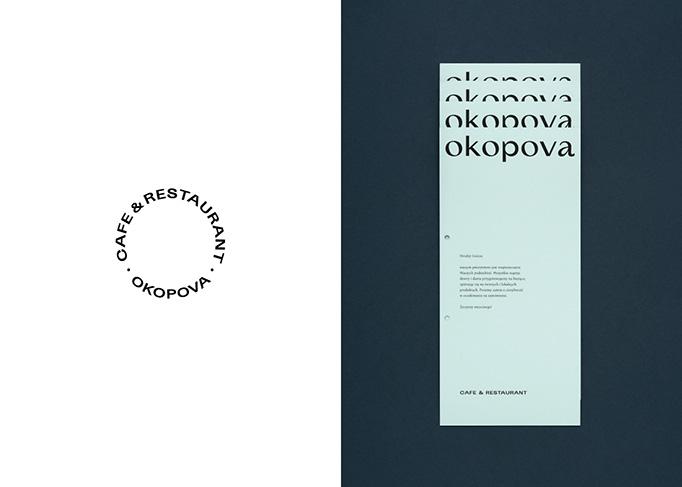 Okopova Menu by Motyw Studio