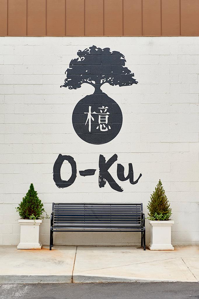O-Ku Menu by Treebird Branding