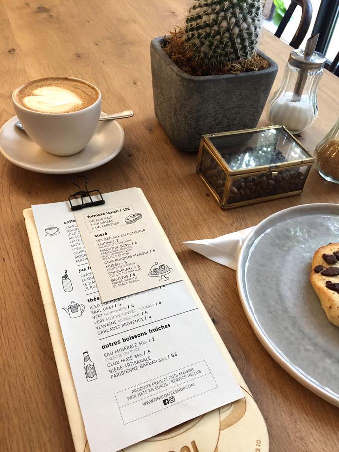 ONI Coffee Shop Menu by Festin studio