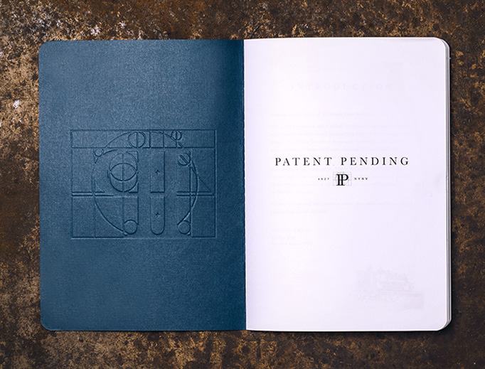 Patent Pending Menu by Simmer Group