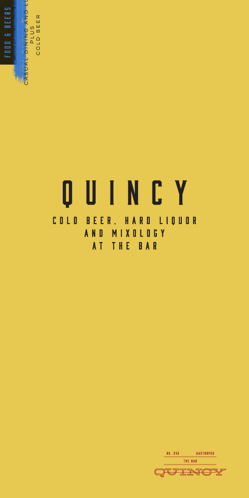 Quincy Menu by Parámetro
