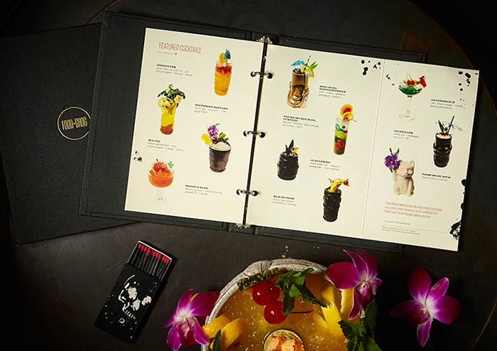 Rhum Menu by Might & Main