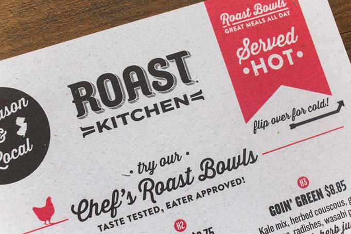 Art of the Menu: Roast Kitchen