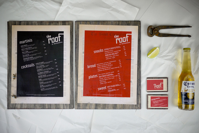 Art of the Menu: The Roof
