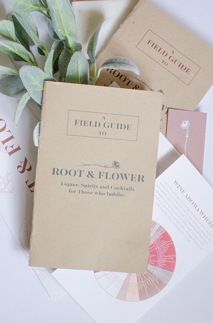 Root & Flower Menu by 970 Design